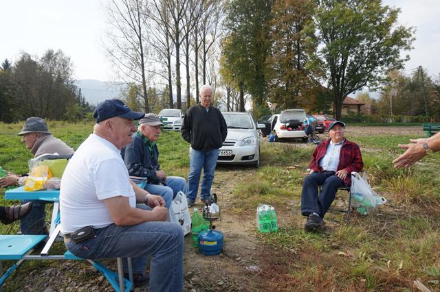 Towarzyskie zawody zakończenia sezonu 2014r. – 12.10.2014r. – Tęgoborze