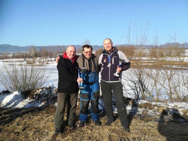 """2 miejsce na Mistrzostwach Okręgu w Wędkarstwie Podlodowym dla drużyny koła """"BARSKIE"""""""